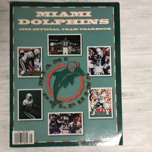 4/$25 Miami Dolphins 1993 Official Yearboo…